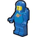 Icon Character ClassicSpace Spaceman (Blue)