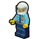 Icon Character Police Officer (ATV)