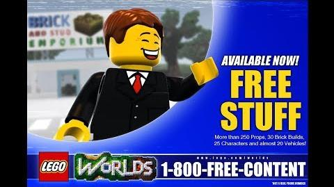 LEGO® Worlds Showcase Collection Pack 1
