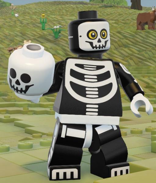 Skeleton Head   Lego Worlds Wikia   FANDOM powered by Wikia