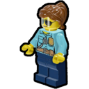 Icon Character Police Officer (Sunglasses)