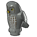 Icon Creature Grey Owl
