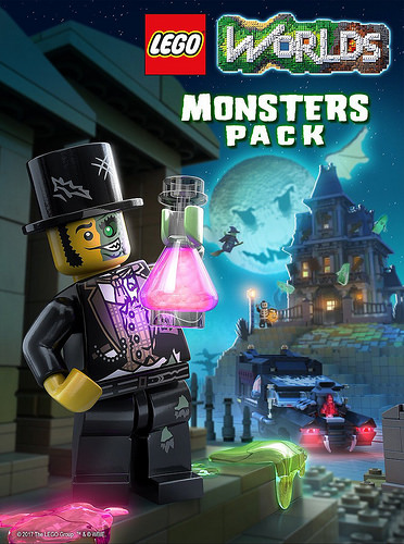 Image - Monsters Pack DLC coverart.jpg | Lego Worlds Wikia | FANDOM ...