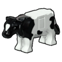 Icon Creature Black and White Cow