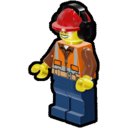 Icon Character Construction Worker (Safety Goggles)