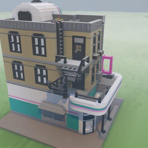 1950s Diner | Lego Worlds Wiki | FANDOM powered by Wikia