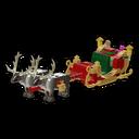 Icon Vehicle Santa Sleigh