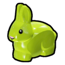 Icon Creature Yellow Green Rabbit