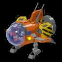Icon Vehicle Test Rocket
