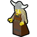 Icon Character Viking Woman