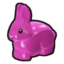 Icon Creature Purple Rabbit