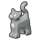 Icon Creature Grey Cat