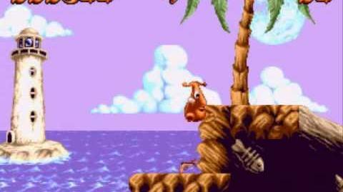 Puggsy (Sega Genesis Megadrive)
