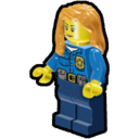 Icon Character Police Officer