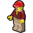 Icon Character Construction Worker (Beard)