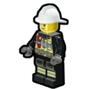 Icon Character Firefighter