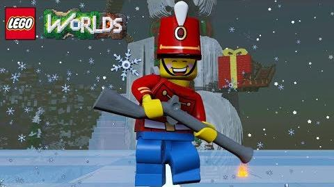 LEGO Worlds Toy Soldier Unlock Code and Free Roam Gameplay
