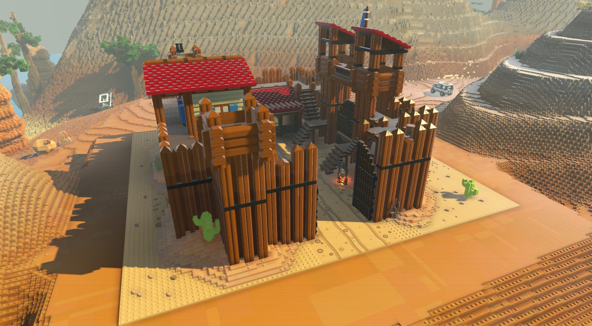Western Fort Lego Worlds Wiki Fandom