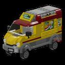 Icon Vehicle Pizza Van