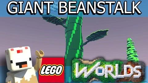 LEGO Worlds (Part 8) Giant Beanstalk