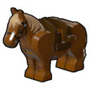 Icon Creature Brown Pony