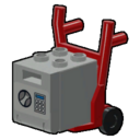 Icon Vehicle Safe And Hand Truck
