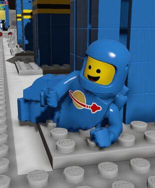 Sassy Blue Spaceman!