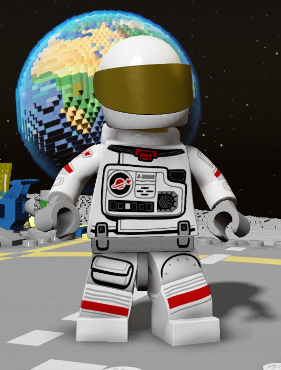 lego astronaut spaceship - photo #14