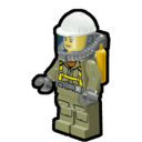 Icon Character Volcano Explorer