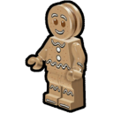 Icon Character Gingerbreadman