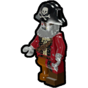 Icon Character Zombie Pirate