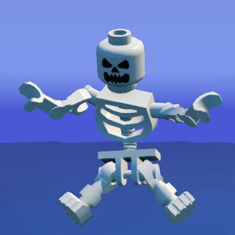Skeleton scaring.
