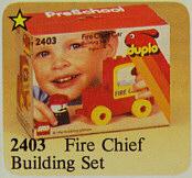 2403-Fire Chief Building Set