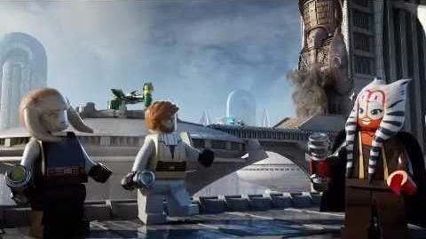 LEGO STAR WARS - Bounty Hunter Assault Gunship & T-6 Jedi Shuttle
