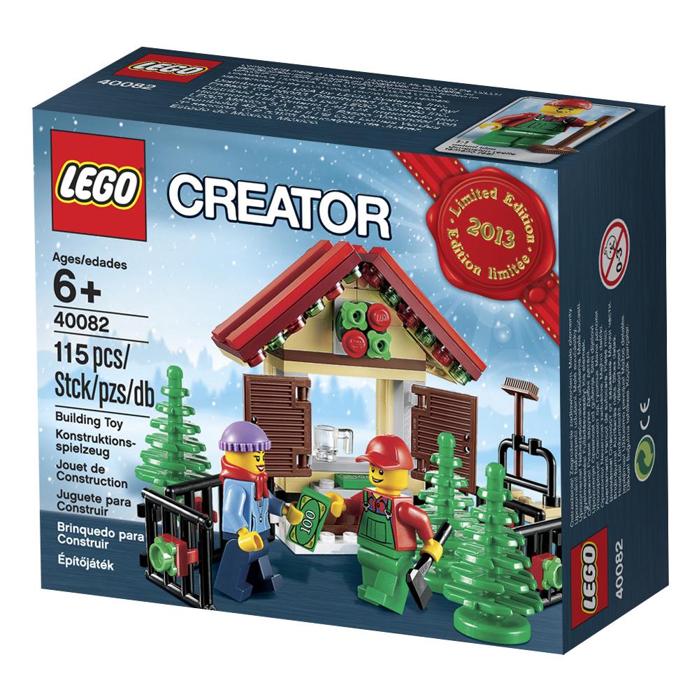 Lego Christmas.40082 Christmas Tree Stand Brickipedia Fandom Powered By
