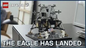 Fly to the Moon - LEGO Creator 10226 Lunar Lander Model Launch