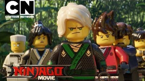 The LEGO Ninjago Movie Meet the Cast Behind the Scenes Cartoon Network