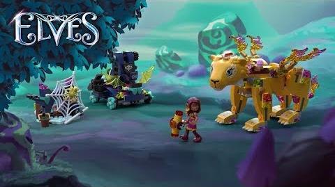 Azari & the Fire Lion Capture 41192 - LEGO Elves - Product Animation