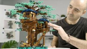LEGO Ideas Tree House (21318) Designer Video (HD)