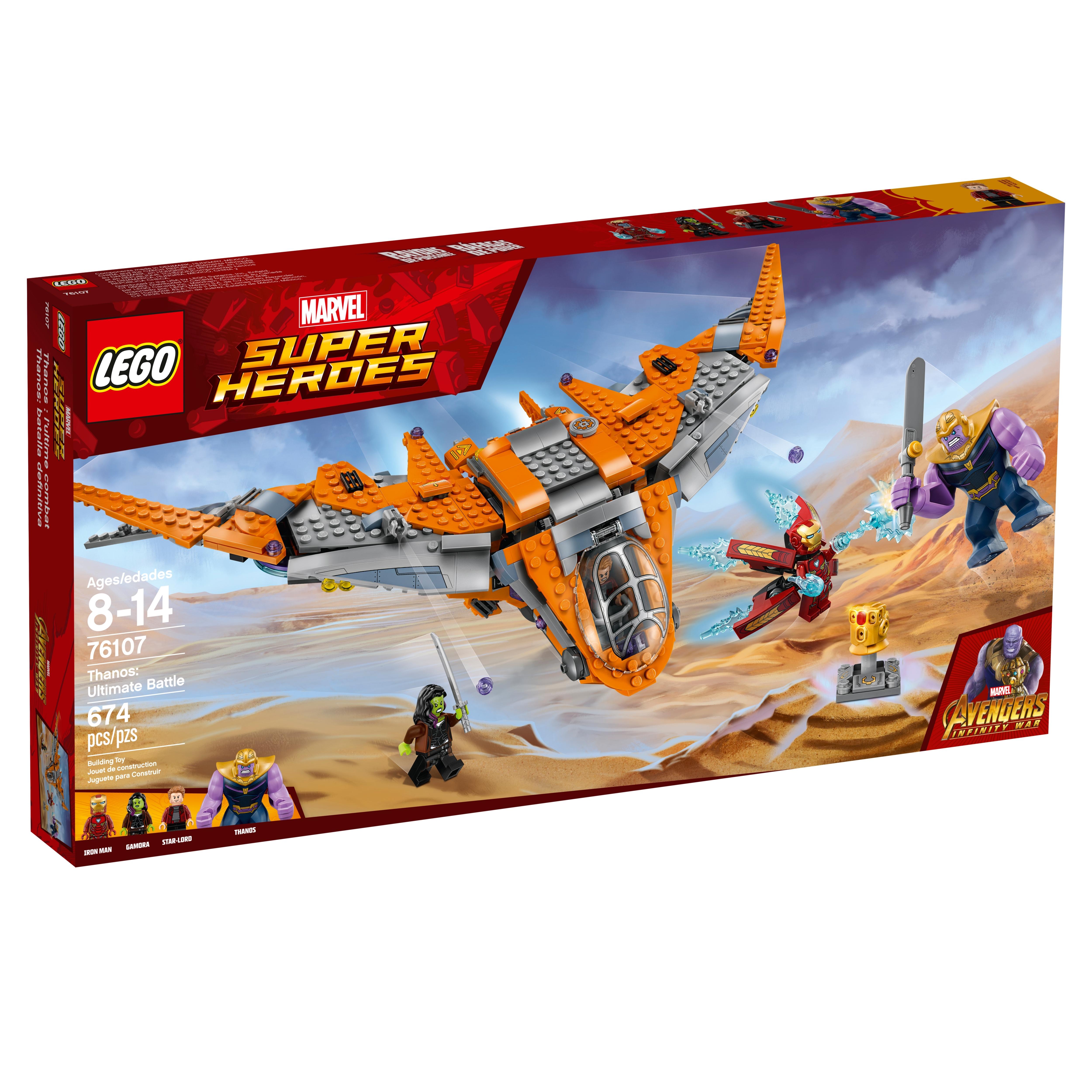 2018 New Lego Sets >> 76107 Thanos Ultimate Battle | Brickipedia | FANDOM powered by Wikia