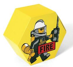 SD656yellow Storage Jar Fire Yellow