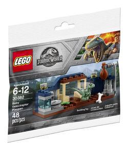 30382 Baby Velociraptor Playpen Box