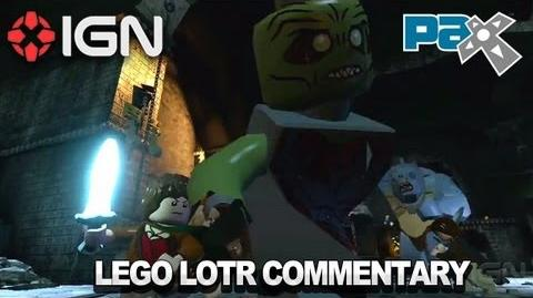 LEGO Lord of the Rings Gameplay Commentary - PAX 2012