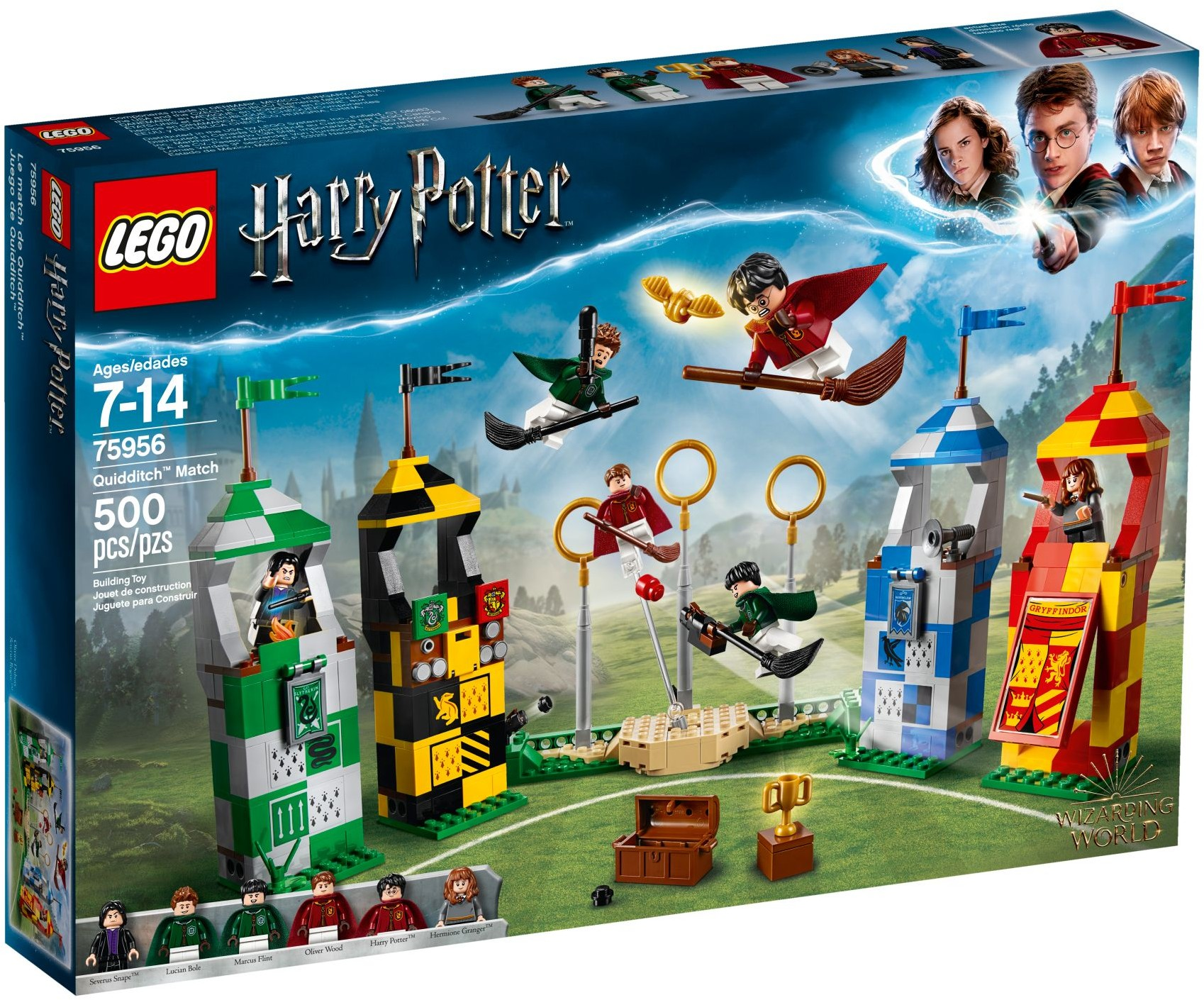 LEGO® Harry Potter™ Oliver Wood with Broon /& Club No Cape