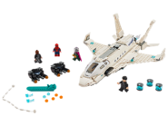 76130 L'attaque de Spider-Man avec le jet de Stark