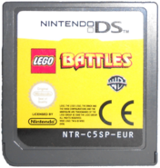 LEGO Battles game card