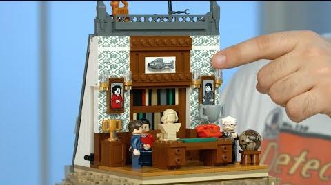 LEGO DC Super Heroes - 76052 Batman Classic TV Series - Batcave Designer Video