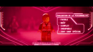 The LEGO Movie 2 BA 1-Emmet évaluation
