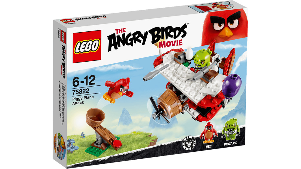LEGO The Angry Birds Movie Pilot Pig Minifigure 75822 Mini Fig Piggy