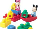 2594 Baby Mickey and Baby Minnie Playground Stack N' Learn